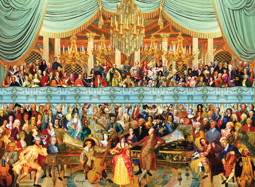 18th Century History - 1500pc Jigsaw Puzzle By Sunsout