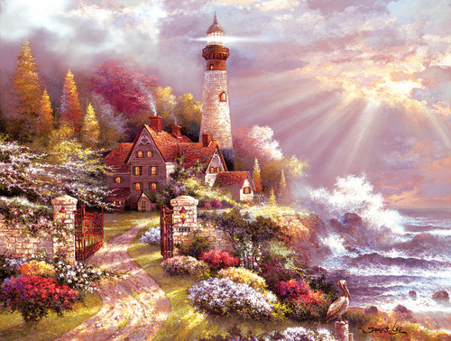 Coastal Splendor - 300pc Large Format Jigsaw Puzzle By Sunsout