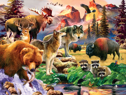 The Great Outdoors - 300pc Large Format Jigsaw Puzzle By Sunsout