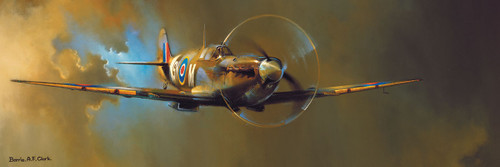 Barrie A.F. Clark: Spitfire - 1000pc by Eurographics