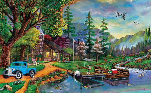 Close to Paradise - 300pc Large Format Jigsaw Puzzle By Sunsout
