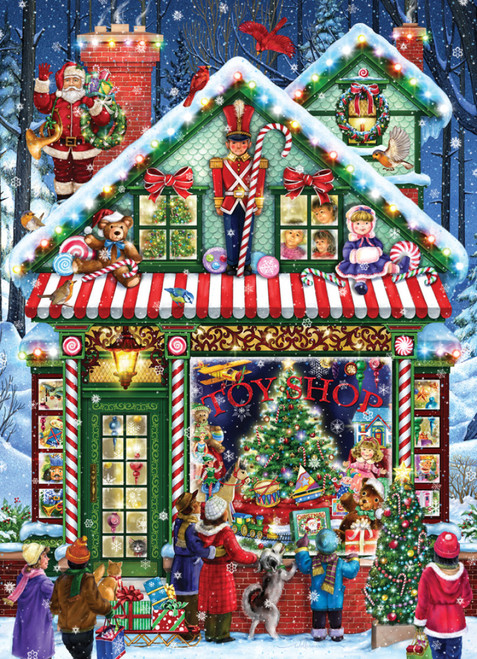 Toy Shop - 1000pc Jigsaw Puzzle by Vermont Christmas Company