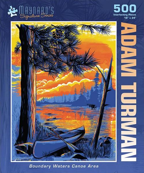 Adam Turman, Boundary Waters - 500pc Jigsaw Puzzle by PuzzleTwist