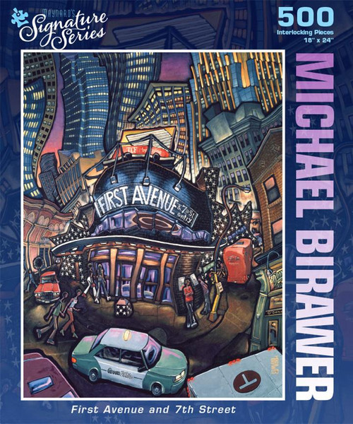 Michael Birawer, First Avenue and 7th Street - 500pc Jigsaw Puzzle by PuzzleTwist