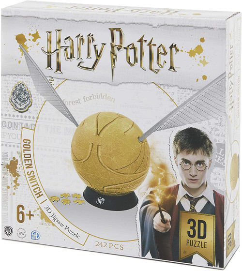 6in Harry Potter Snitch - 242pc 3d Jigsaw Puzzle by 4D Cityscape