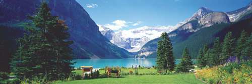Lake Louise Canadian Rockies - 1000pc Jigsaw Puzzle by Eurographics