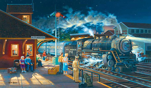 Homeward Bound - 300pc Large Format Jigsaw Puzzle By Sunsout