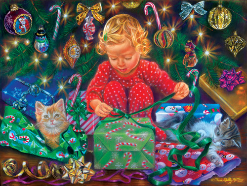 Wrapped with Love - 300pc Large Format Jigsaw Puzzle By Sunsout