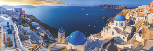 Santorini Greece - 1000pc Jigsaw Puzzle by Eurographics