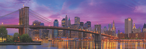 Brooklyn Bridge New York - 1000pc Jigsaw Puzzle by Eurographics