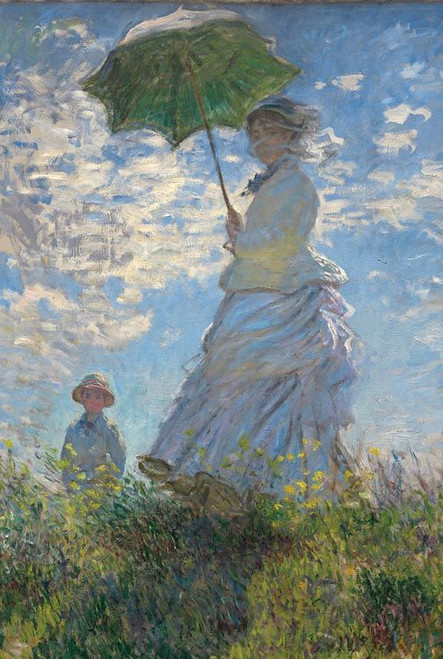 Madame Monet and Her Son - 1000pc Jigsaw Puzzle by Tomax