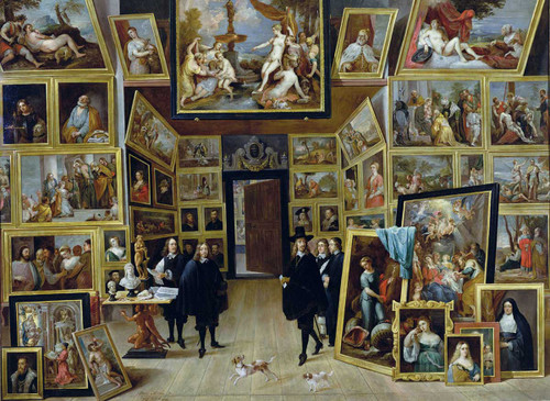 Archduke Leopold-Willem in His Art Gallery - 4000pc Jigsaw Puzzle By Tomax