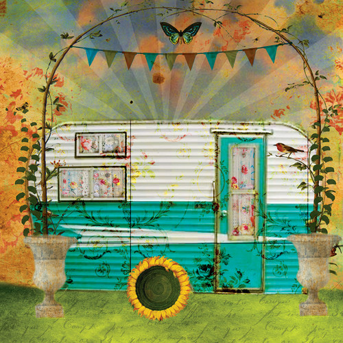 Home is Where you Park it - 500pc Jigsaw Puzzle By Sunsout