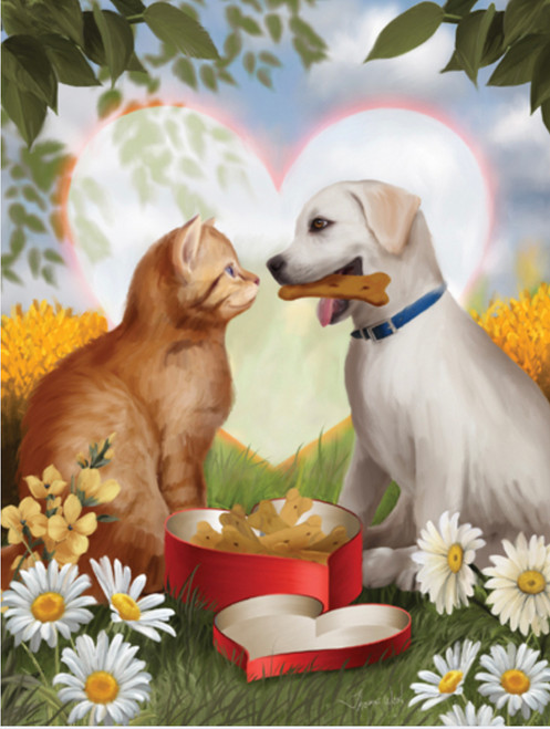 For My Valentine - 300pc Large Format Jigsaw Puzzle By Sunsout