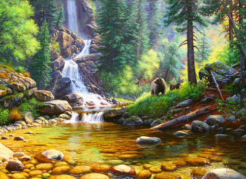 Quiet Repose - 500+pc Jigsaw Puzzle By Sunsout