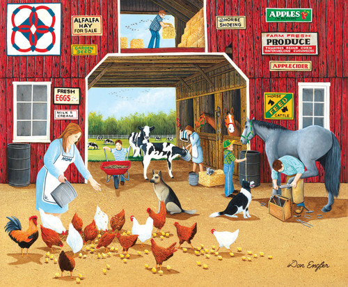 Hay For Sale - 1000pc Jigsaw Puzzle By Sunsout