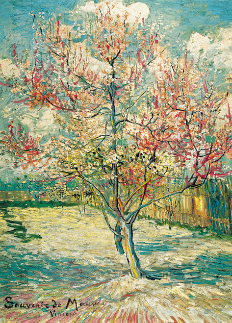 Van Gogh: Peach Tree in Bloom - 1000pc Jigsaw Puzzle By PuzzleLife