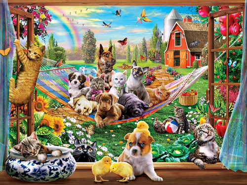 Green Acres: Afternoon Siesta - 300pc EzGrip Puzzle by Masterpieces