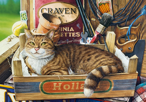 Fothergill - 500pc Jigsaw Puzzle by Castorland
