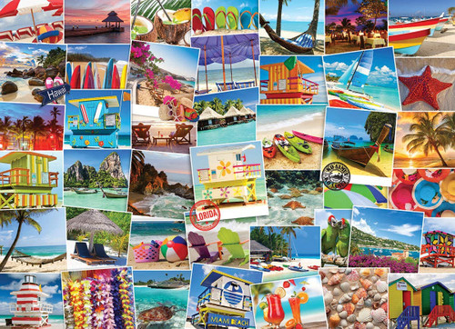 Beaches Globetrotter  - 1000pc Jigsaw Puzzle by EuroGraphics
