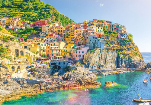 Italy, Cinque Terre - 1000pc Jigsaw Puzzle by Turner