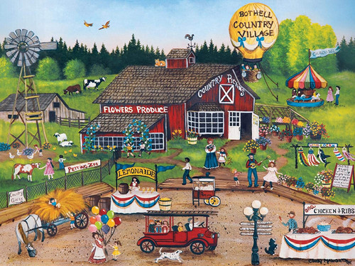 Homegrown: Country Pickens - 750pc Jigsaw Puzzle by Masterpieces