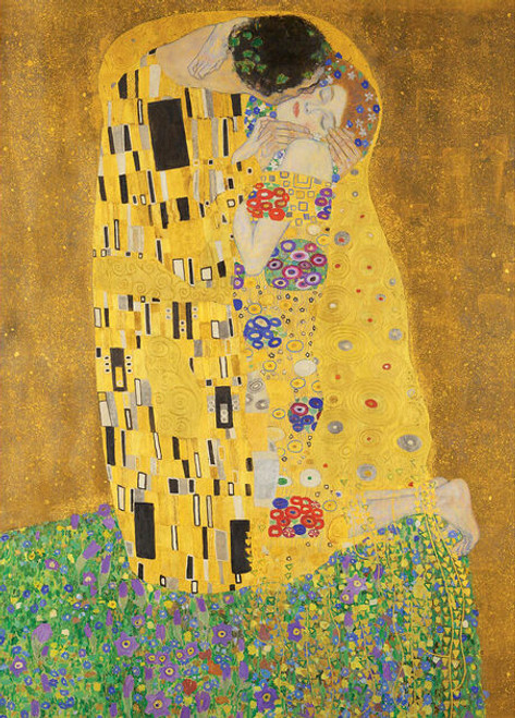 Klimt: The Kiss - 1000pc Jigsaw Puzzle by Masterpieces