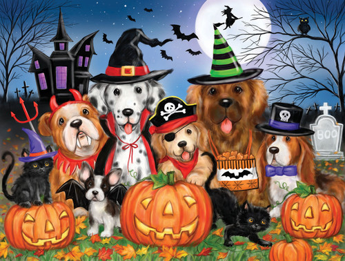Ready for Halloween - 300pc Large Format Jigsaw Puzzle By Sunsout