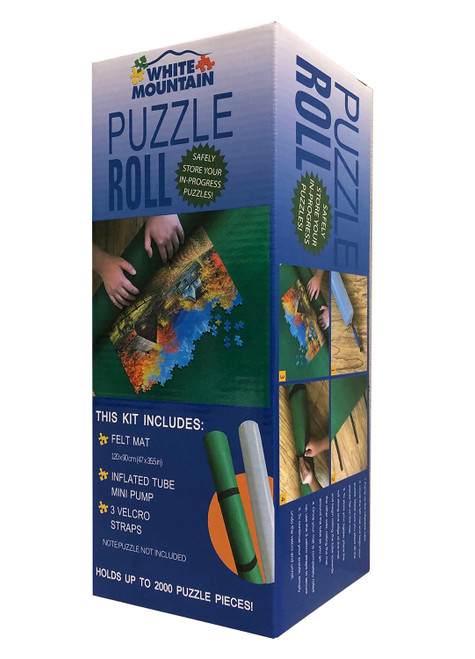 Jigsaw Puzzle Roll-Up Mat -  Jigsaw Puzzle Accessory by White Mountain