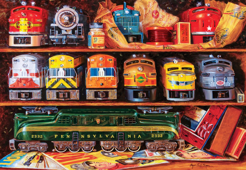 Lionel: Well-Stocked Shelves - 2000pc Jigsaw Puzzle by Masterpieces