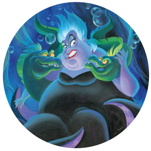 Disney: Villains - 500pc Round Jigsaw Puzzle by Ceaco