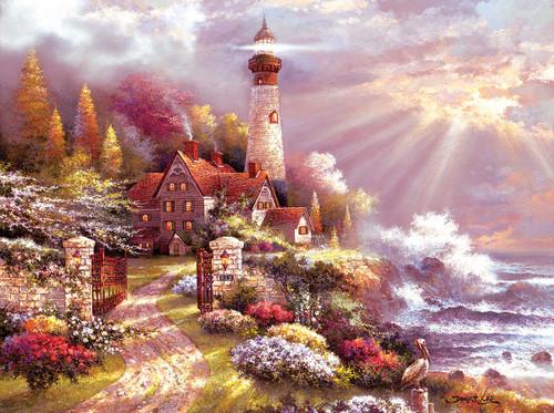 Coastal Splendor - 1000pc Jigsaw Puzzle By Sunsout