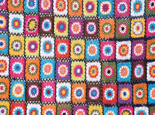 Bali Blanket Crochet - 1000pc Jigsaw Puzzle By Serious Puzzles