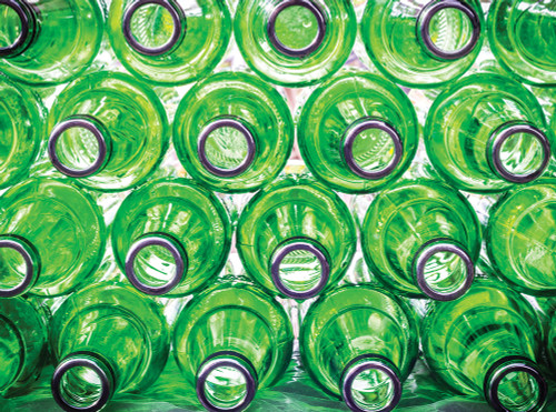 Green Bottles - 1000pc Jigsaw Puzzle By Serious Puzzles