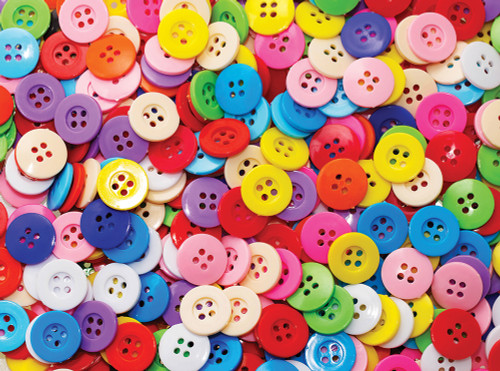 Buttons - 1000pc Jigsaw Puzzle By Serious Puzzles