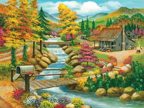 Fall Season - 1000pc Jigsaw Puzzle By Sunsout