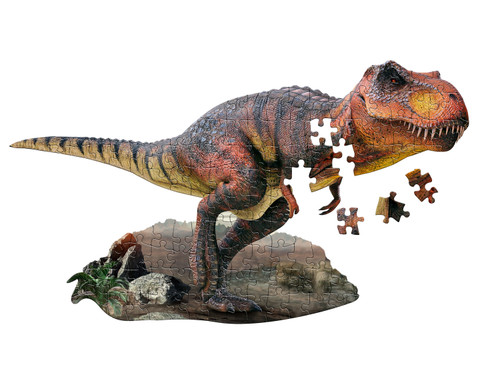 I AM T-Rex - 100pc Shaped Jigsaw Puzzle by Madd Capp
