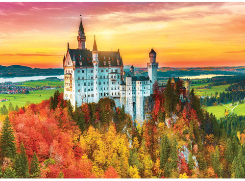 Shutterspeed: Autumn Castle - 1000pc Jigsaw Puzzle by Masterpieces