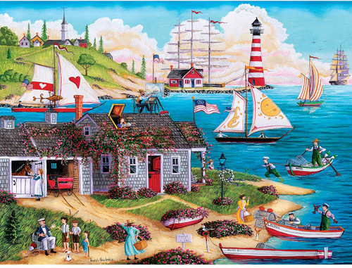 Town & Country: Painter's Point - 300pc EzGrip Puzzle by Masterpieces