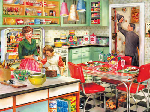 Baking with Mom - 300pc Large Format Jigsaw Puzzle by Cra-Z-Art