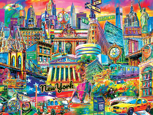 I Heart New York - 300pc Large Format Jigsaw Puzzle by Cra-Z-Art