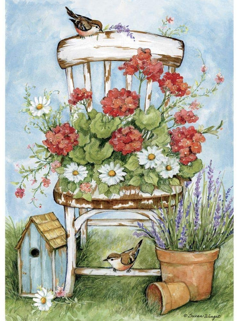 Geranium Chair - 300pc Jigsaw Puzzle by Lang