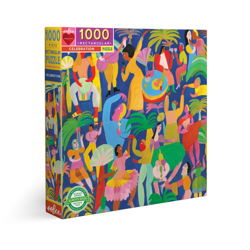 Celebration - 1000pc Jigsaw Puzzle by eeBoo