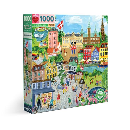 Copenhagen - 1000pc Square Jigsaw Puzzle by eeBoo