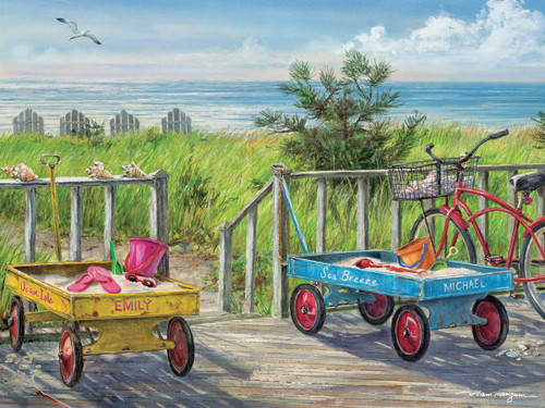 Beach Buddies - 550pc Jigsaw Puzzle by Heritage Puzzle
