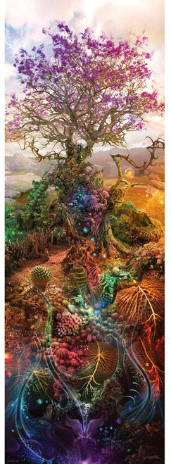 Magnesium Tree - 1000pc Vertical Panoramic Jigsaw Puzzle By Heye