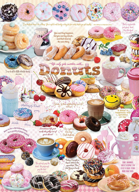 Donut Time - 1000pc Jigsaw Puzzle By Cobble Hill