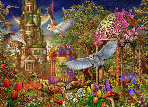 Woodland Fantasy - 1000pc Jigsaw Puzzle by Vermont Christmas Company