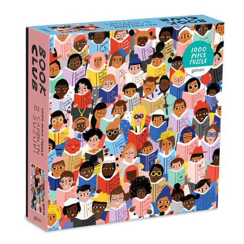Book Club - 1000pc Jigsaw Puzzle by Galison