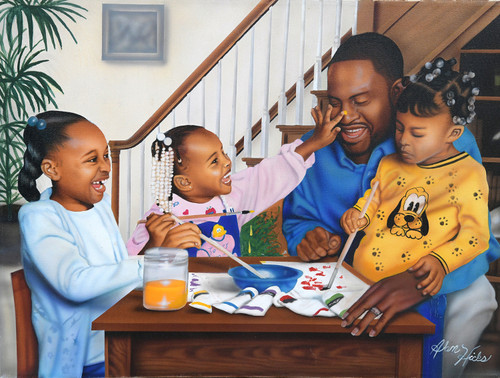 Daddy's Little Girls - 500pc Jigsaw Puzzle By Sunsout